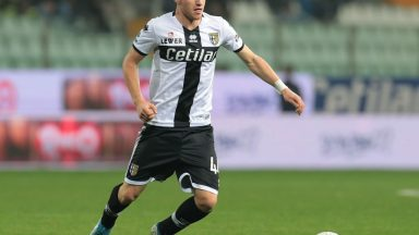 Parma's Dejan Kulusevski in action during the Serie A match Hellas Verona. (Getty Images)