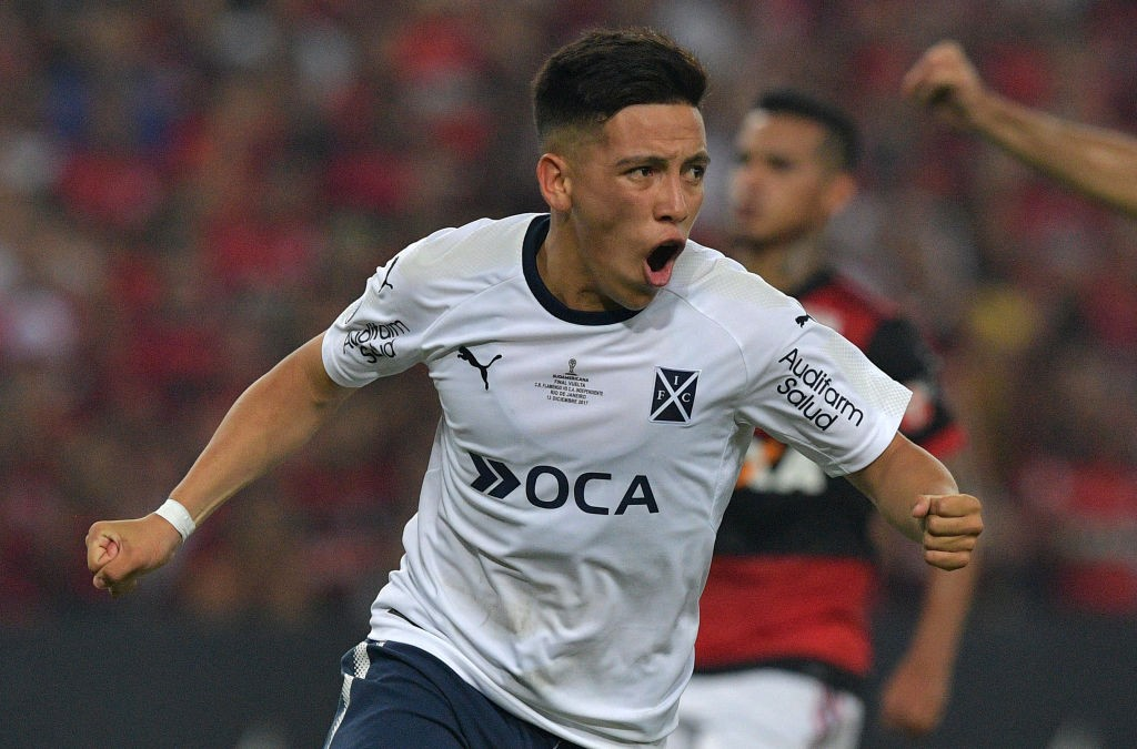 Barco while playing for Argentina outfit Independiente.