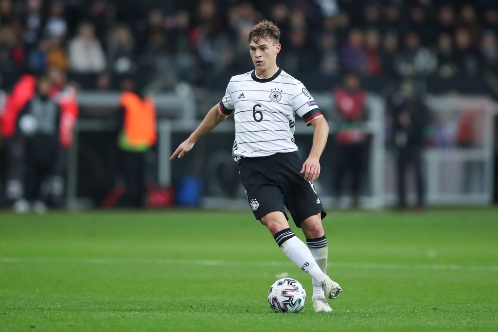 Kimmich in action for Germany.
