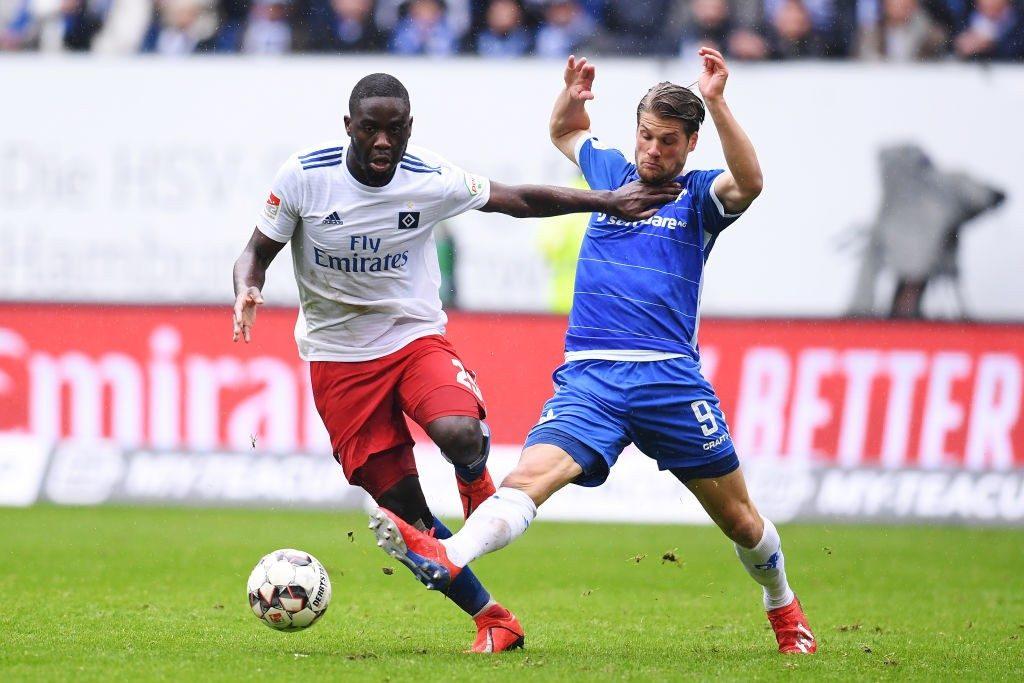 Mangala while playing for Hamburger SV.