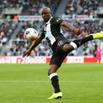 Jetro Willems shoots during the Premier League match between Newcastle United and Brighton. (Getty Images)