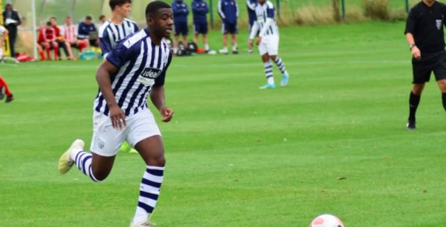 Under-18 West Brom striker Jovan Malcolm.