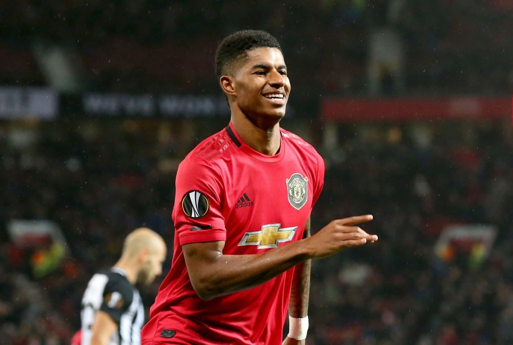 Marcus Rashford has been Manchester United's main man this season with five goals.