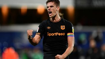 Markus Henriksen of Hull City celebrates after the Sky Bet Championship match between Queens Park Rangers and Hull City at Loftus Road on December 1, 2018. (Getty Images)