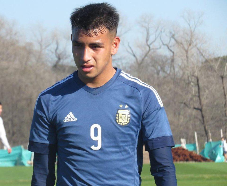 17-year old Argentine striker Matias Godoy.