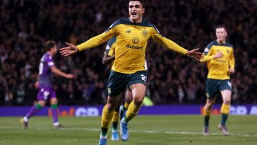 Mohamed Elyounoussi is loving life at Celtic. (Getty Images)