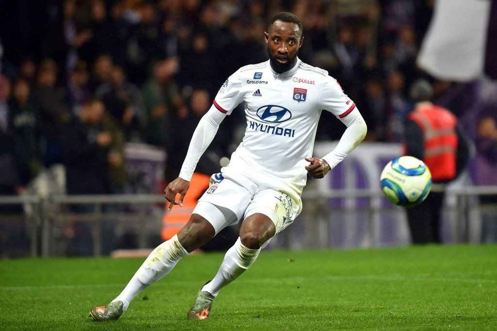 Lyon's Moussa Dembele in action against Toulouse. (Getty Images)