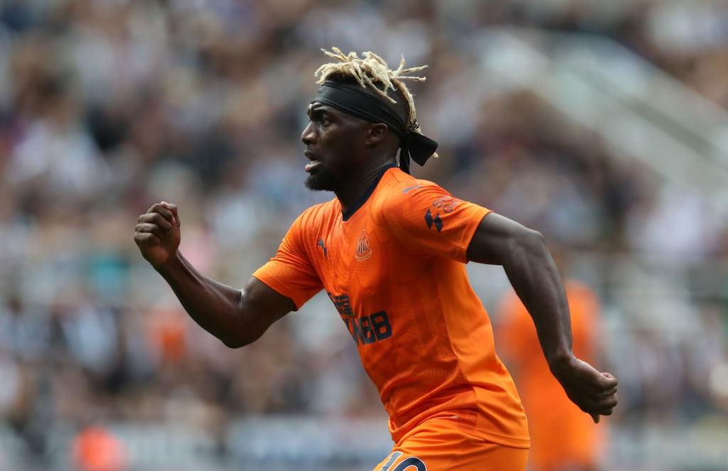 Allan Saint-Maximin is one of the best dribblers in the league this season.