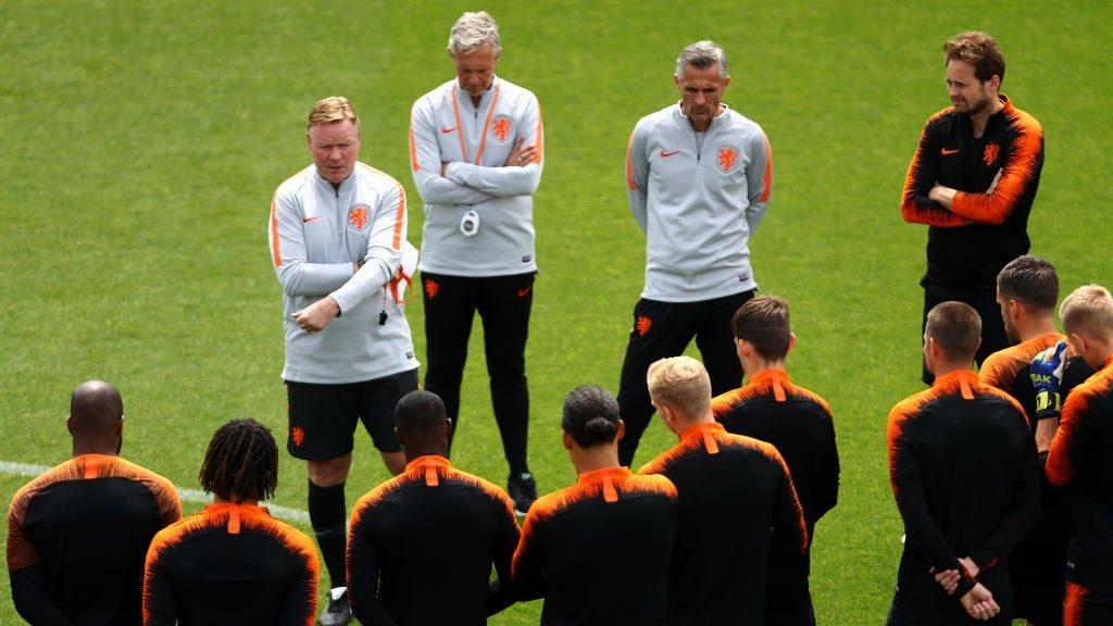 Dutch boss Koeman ahead of UEFA Nationals League final against Portugal.