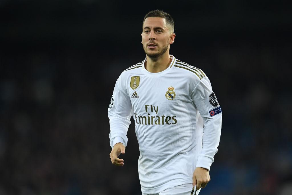 Real Madrid's new summer signing Eden Hazard.