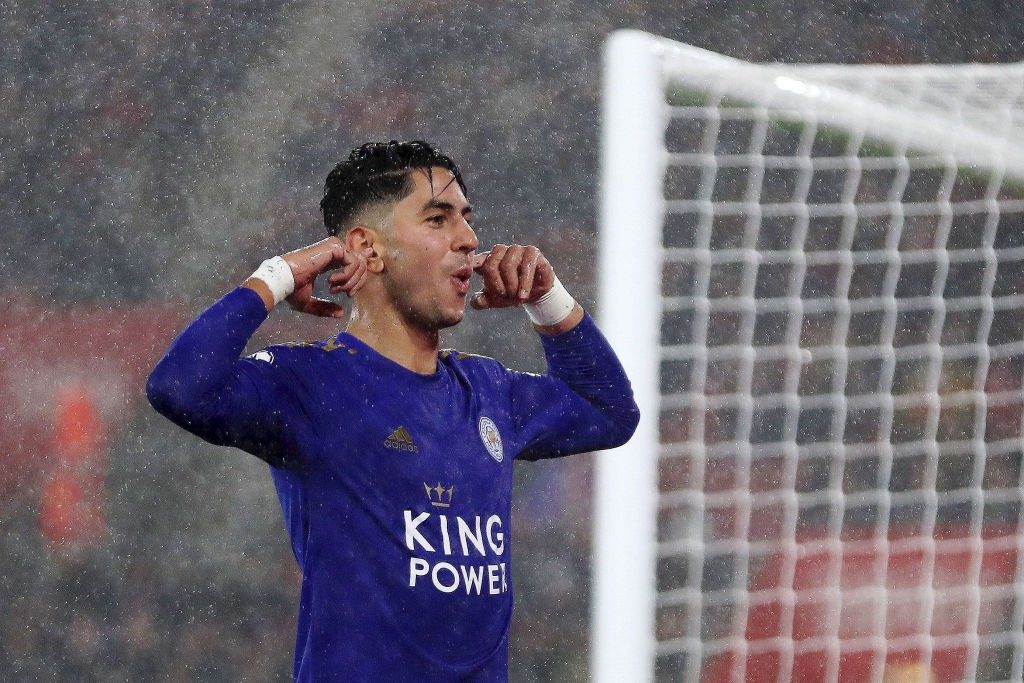 Leicester's summer signing Ayoze Perez.