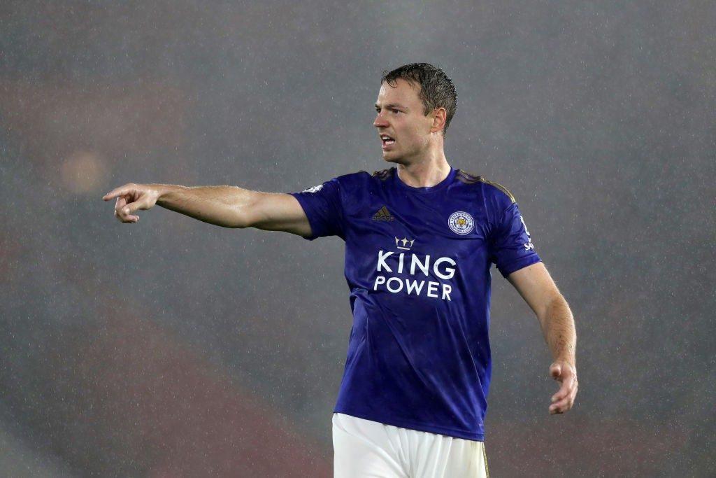 Foxes' defender Jonny Evans.