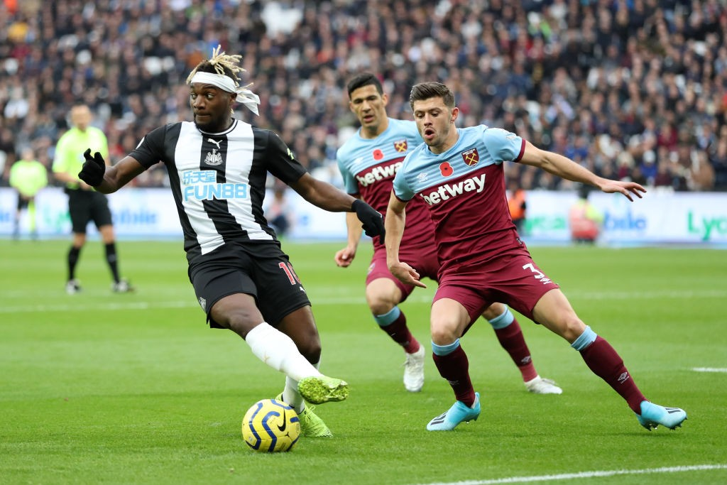 Maximin in action against West Ham.