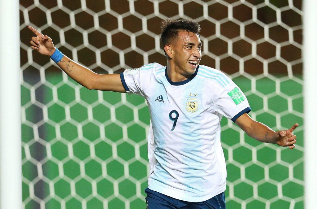 Godoy in action for under-17 Argentina side.