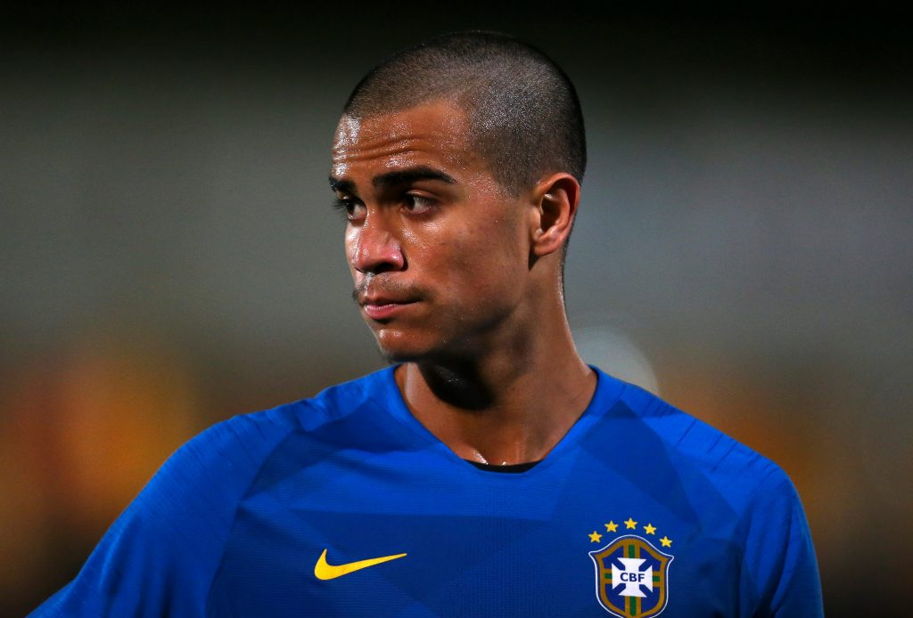 Jesus while playing for under-17 Brazilian side.