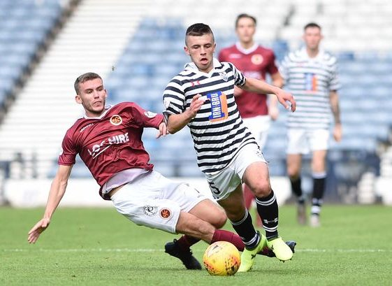 Queen's Park's Reagan Thomson has been linked with Rangers