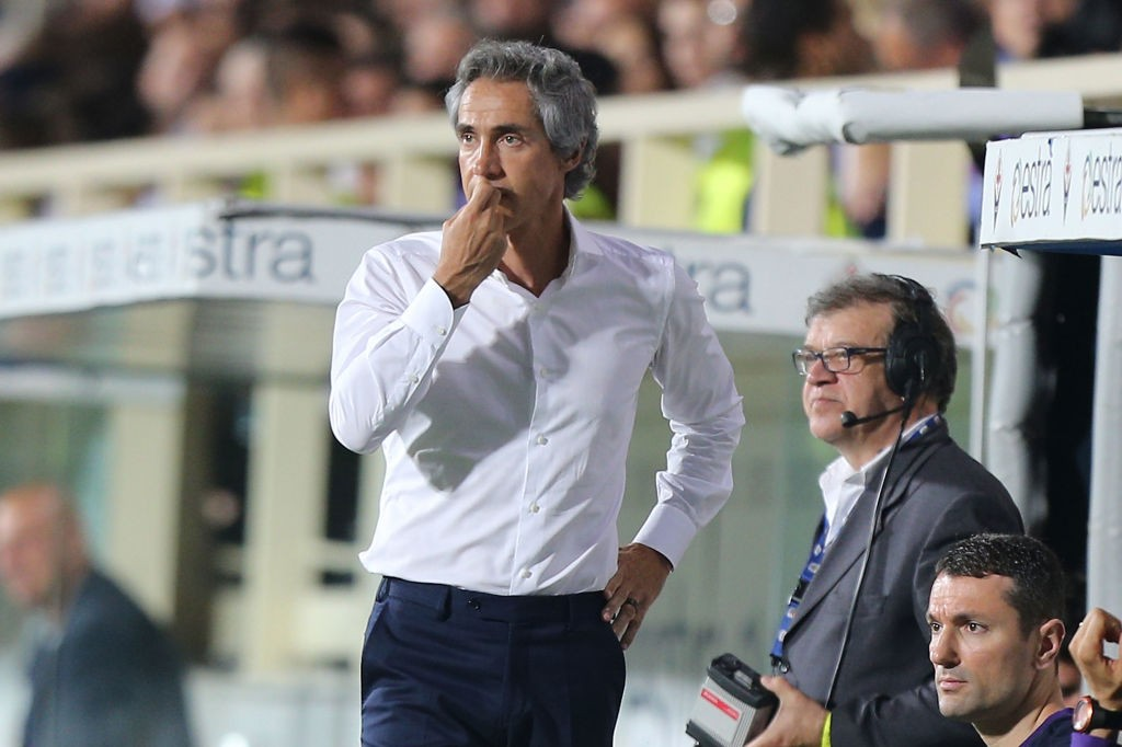 Portuguese Sousa during his managerial stint with Italian outfit Fiorentina.