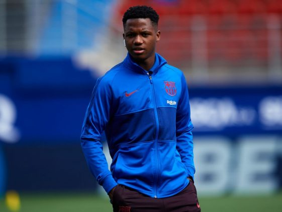 Ansu Fati has a very bright future in the footballing world (Getty Images)