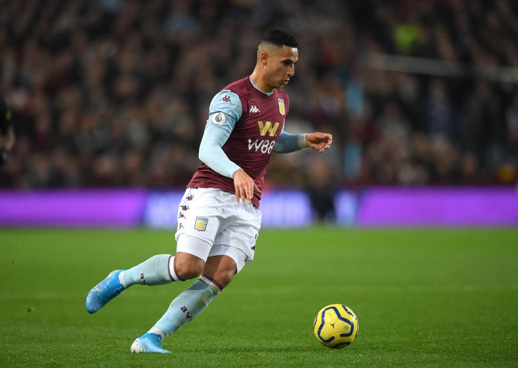 Aston Villa winger El Ghazi.