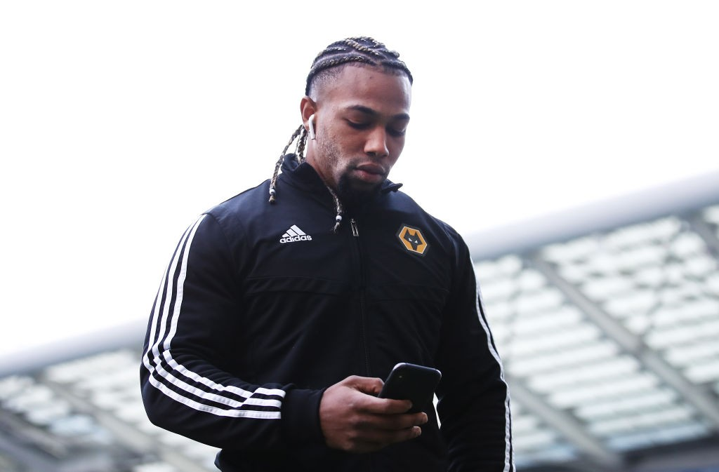Wolves winger Adama Traore.