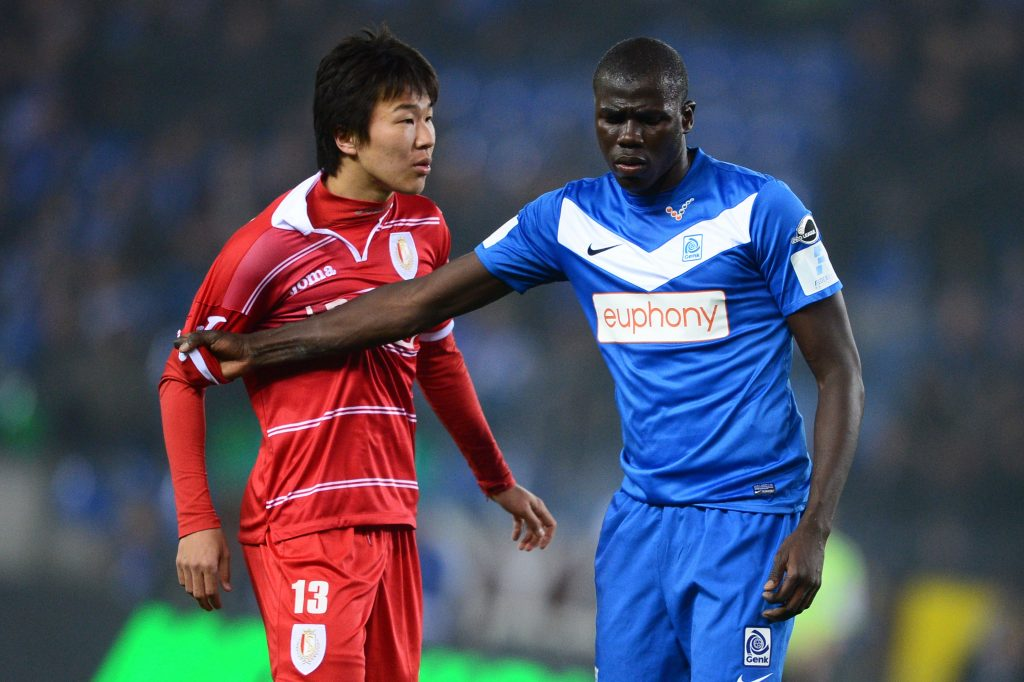 Koulibaly during his days with Genk.