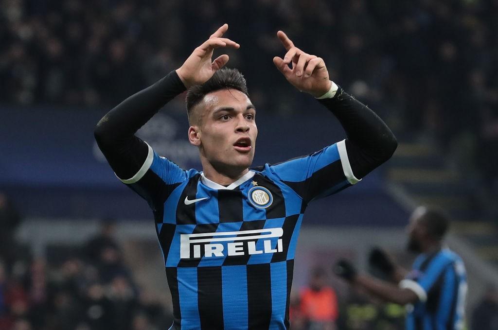 Inter Milan forward Lautaro Martinez.