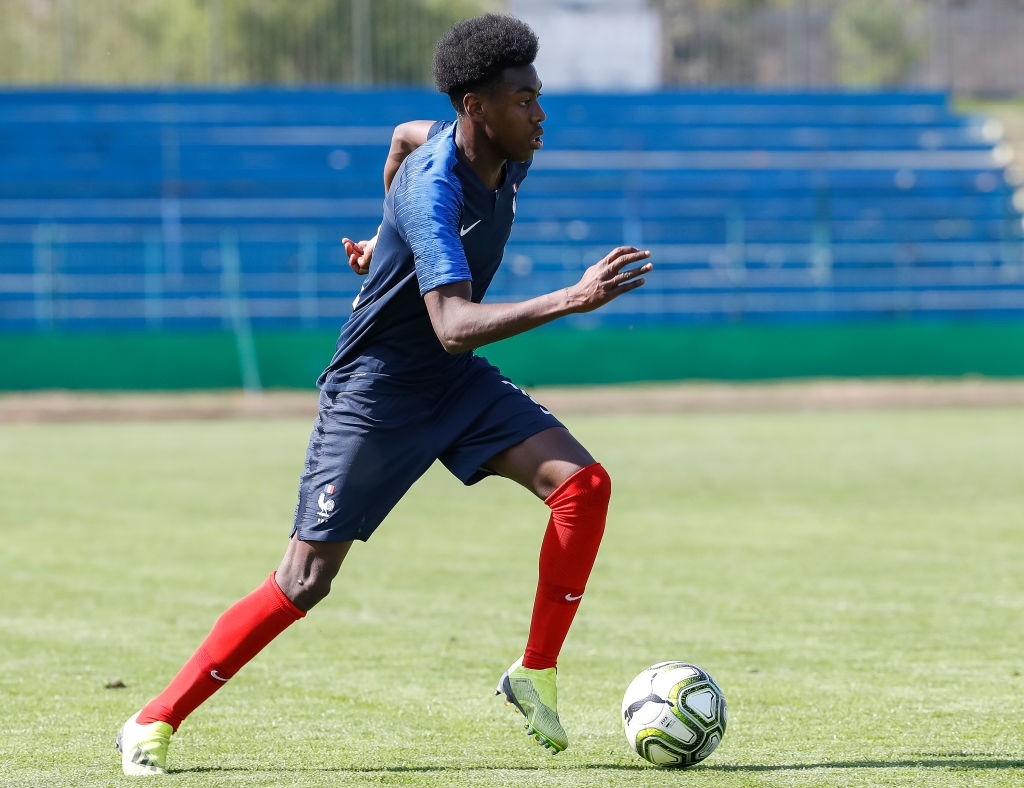 Isaac Lihadji in action for France Under-19. (Getty Images)