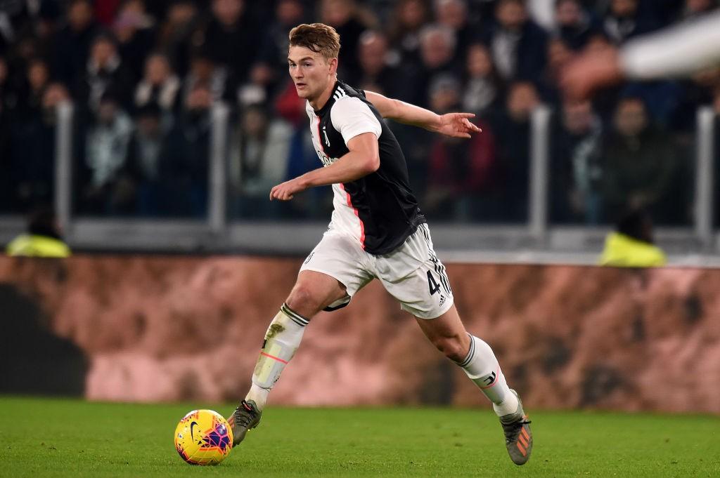 Juventus summer signing Matthijs de Ligt.