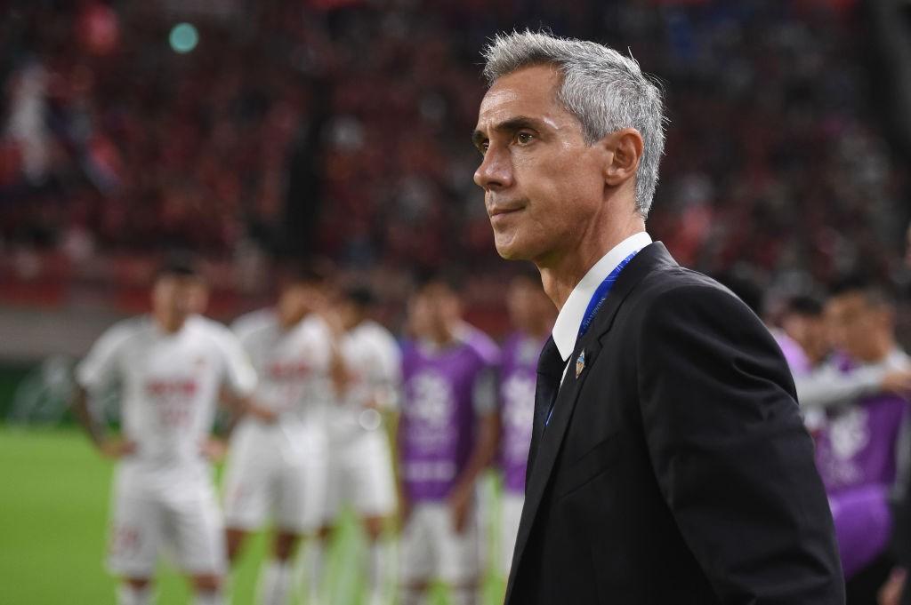 Sousa while managing Chinese side Tianjin Quanjian.