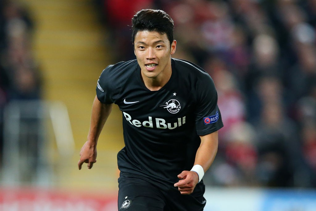 Hwang Hee-chan of Red Bull Salzburg.