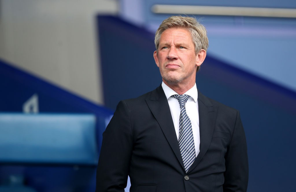 Everton Director of Football, Marcel Brands looks on prior to the Premier League match between Everton FC and Huddersfield Town at Goodison Park. (Getty Images)