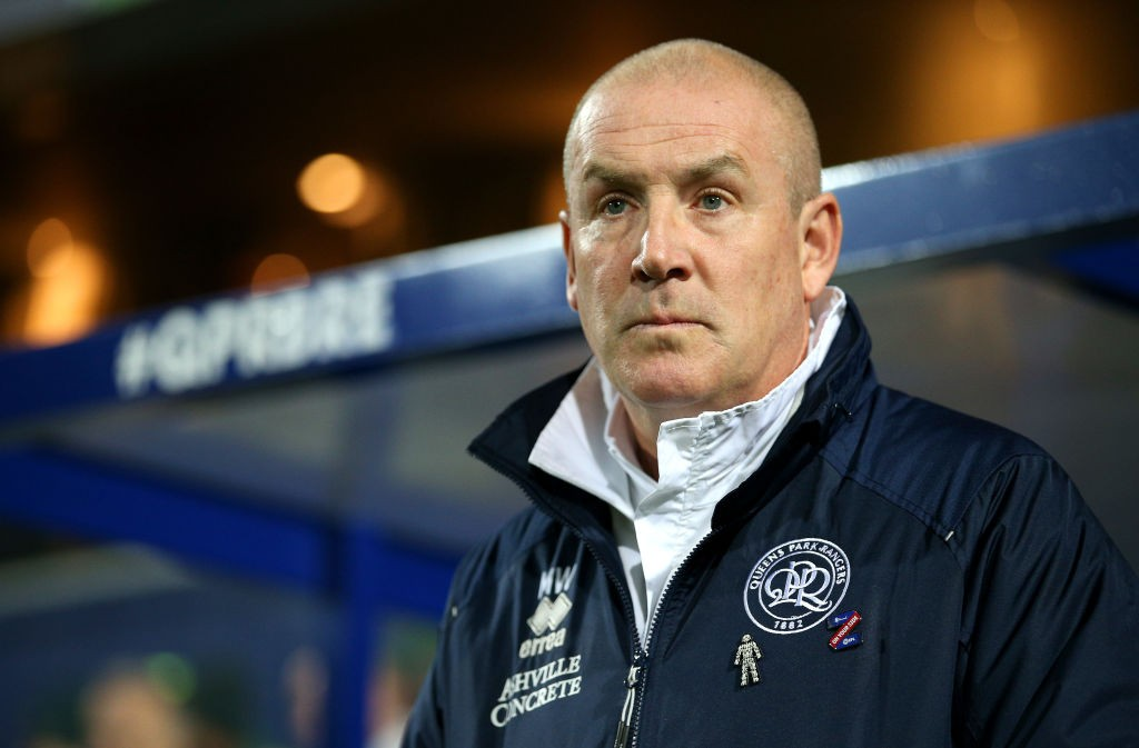 Mark Warburton, Manager of Queens Park Rangers looks on prior to the Sky Bet Championship match between Queens Park Rangers and Brentford at The Kiyan Prince Foundation Stadium on October 28, 2019 in London, England. (Getty Images)