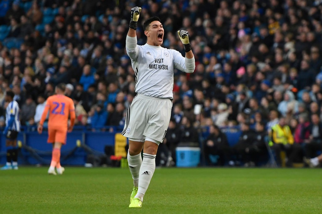 Cardiff City shot-stopper Neil Etheridge (Getty Images)