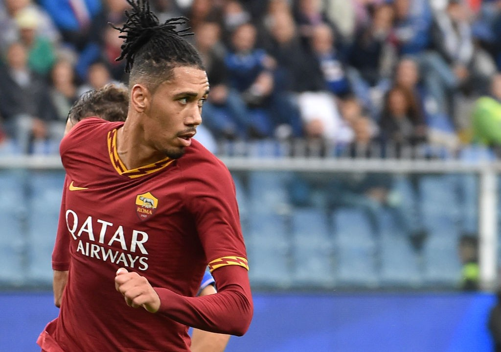 Manchester United loanee Chris Smalling has been in good form since moving to AS Roma.