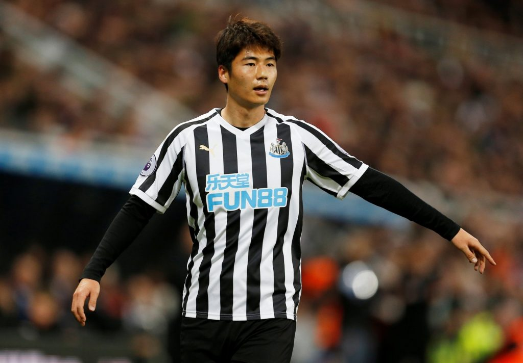 Newcastle United midfielder Ki Sung-Yeung in action. (Getty Images)