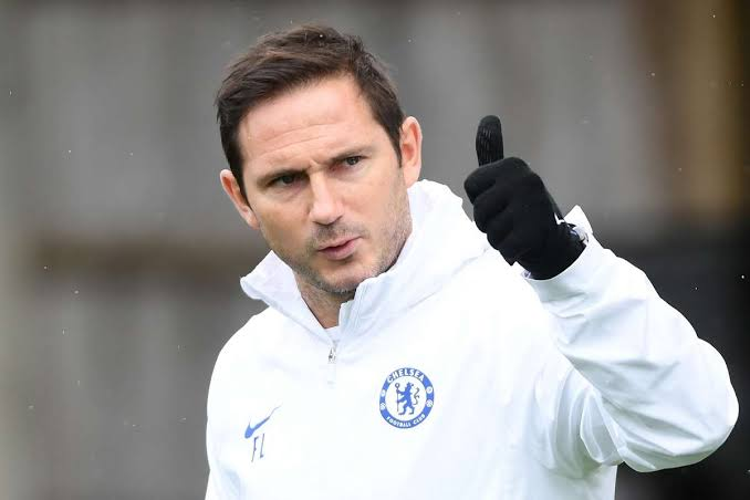 Chelsea's new manager Frank Lampard.