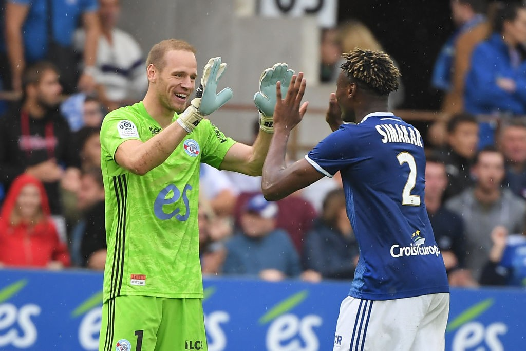 Mohamed Simakan (R) (Getty Images)