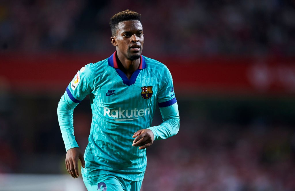 Barcelona right-back Nelson Semedo.