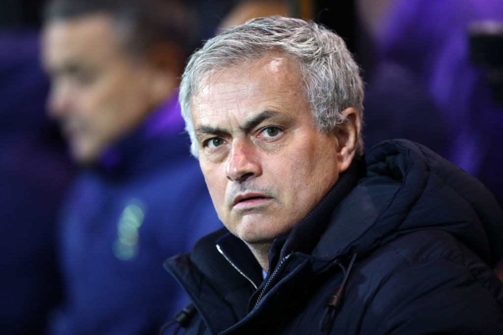 New Tottenham boss Jose Mourinho.